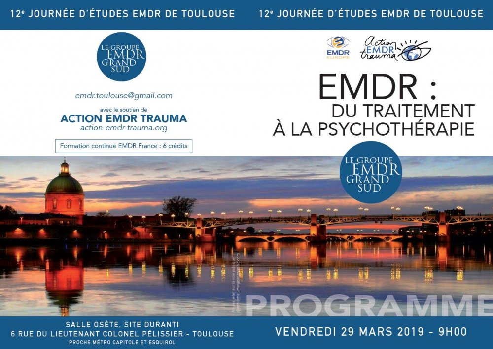 Journée d'études de l'association Action Trauma - 29 mars 2019